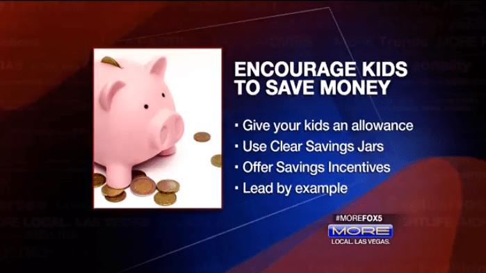 Five Financial Steps for Children